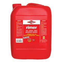 Solutie profesionala pentru curatarea jantelor si a suprafetelor din aluminiu Voulis Rimer 10L