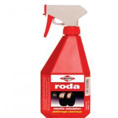Solutie profesionala Voulis Roda pentru curatarea anvelopelor (emulsie) 550 ml